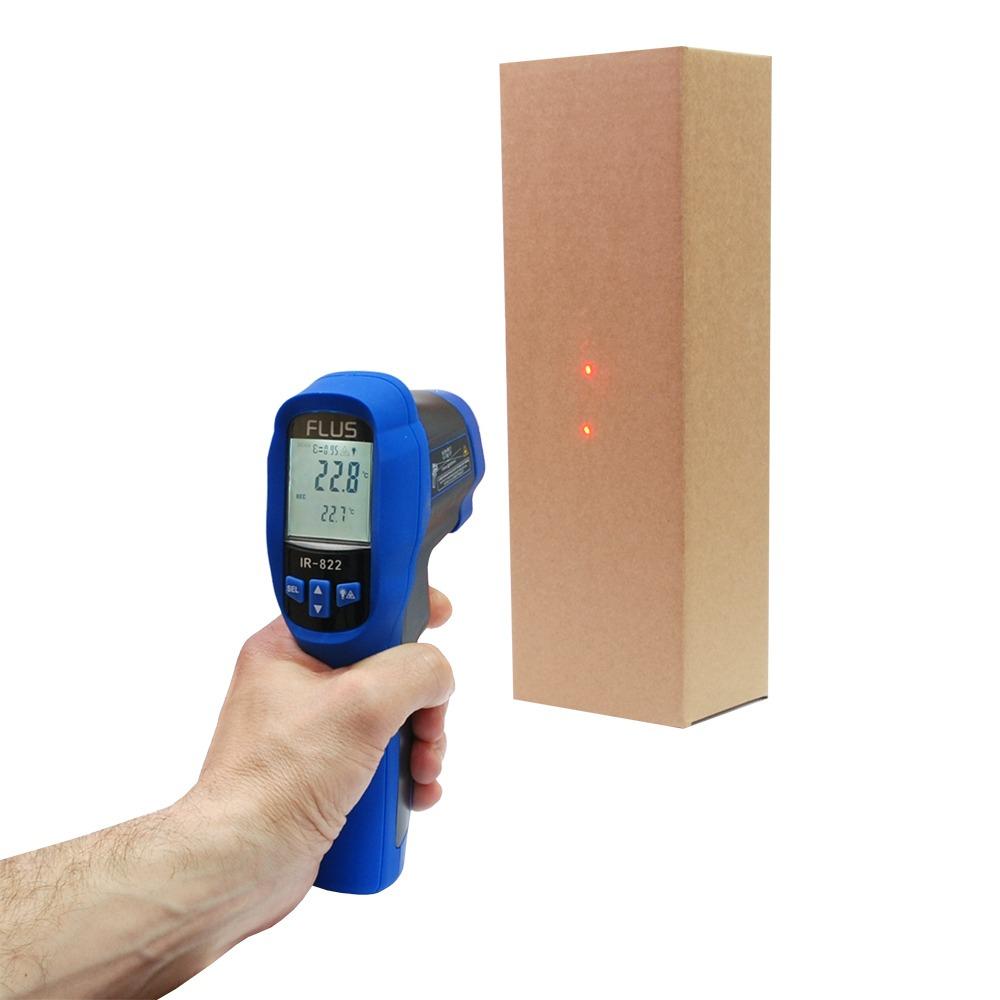Инфракрасный термометр - пирометр Flus IR-822 (-50…+1050) - 3
