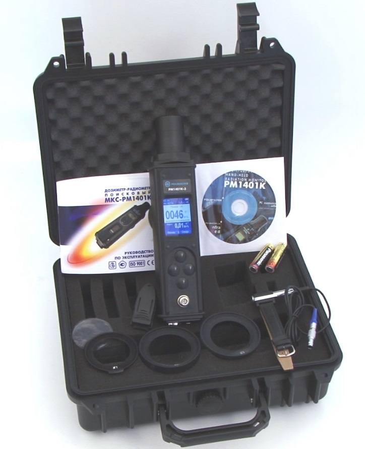 Дозиметр-радіометр пошуковий МКС-РМ1401К-3 - 1