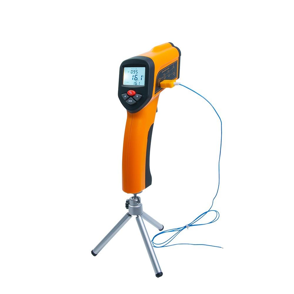 Пірометр Xintest HT-6899 (-50 ... + 2200 ° C, 50:1) з термопарою - 2