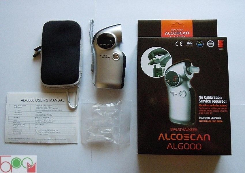 "Алкотестер ""Alcoscan AL-6000"" - 5"