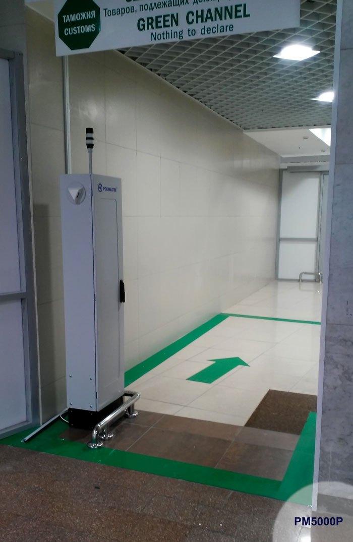 Пішохідні/багажні портальні радіаційні монітори серії PM5000A - 2