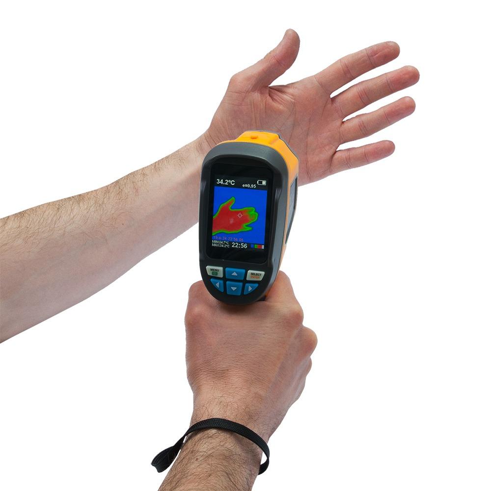 """Тепловізор - термографічна камера Xintest """"HT-02"""" (60x60, 2.4"""", -20...300℃) - 8"""