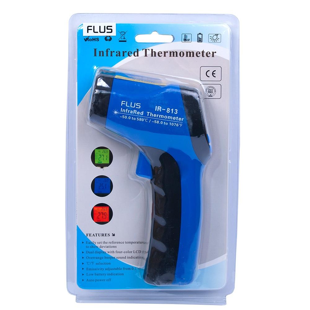 Инфракрасный термометр - пирометр Flus IR-813 (-50…+580) - 5