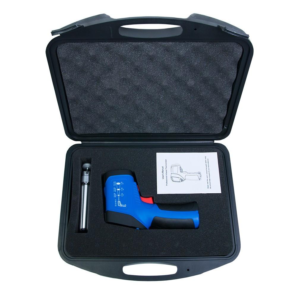 Инфракрасный термометр - пирометр FLUS IR-866 (-50…+2250) - 4