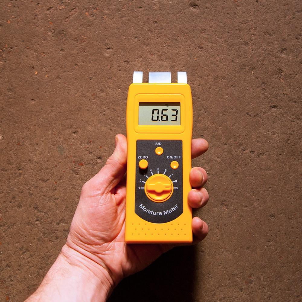 """Безконтактний вологомір бетону і стяжки """"DM200C"""" (0...50%) - 4"""