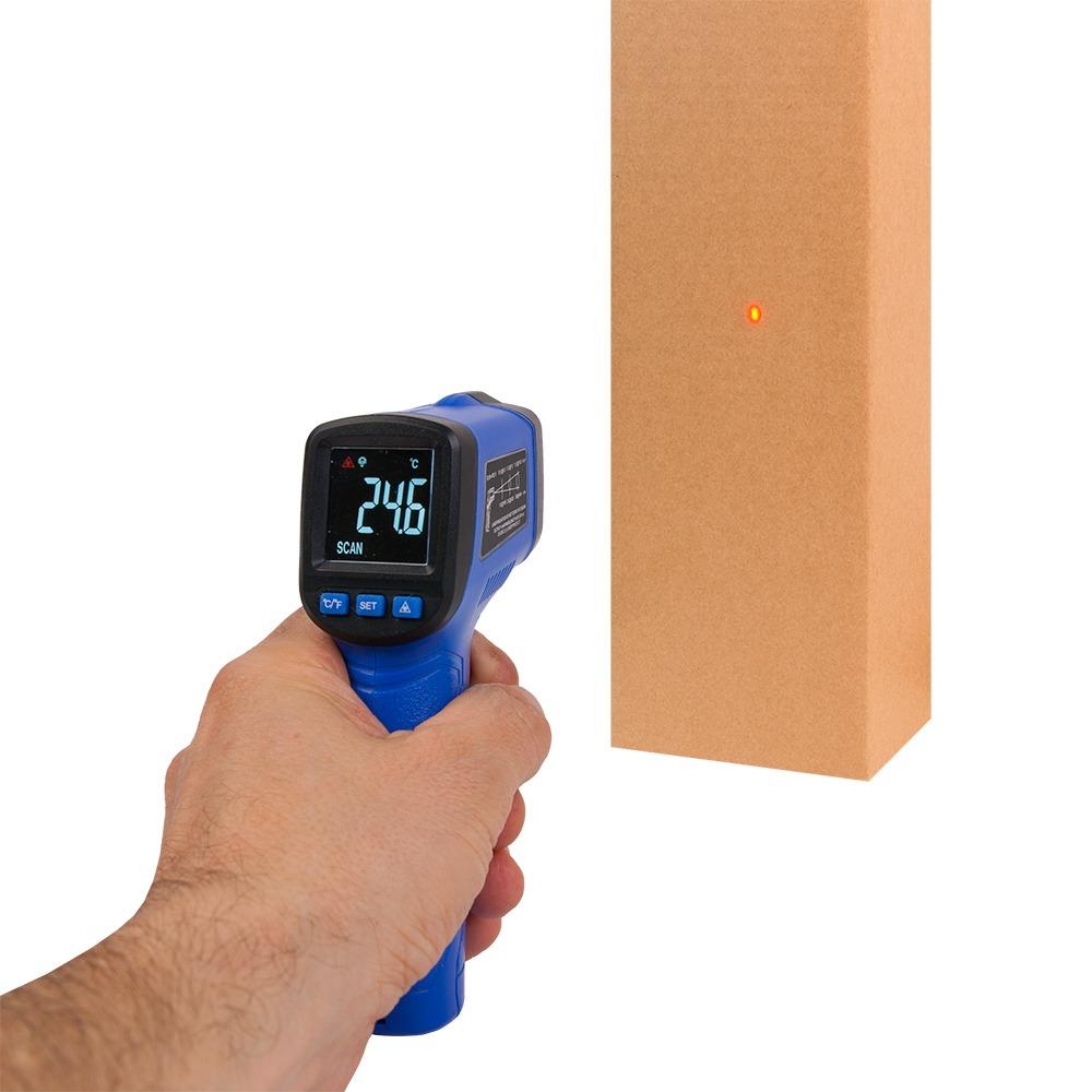 Пірометр Flus IR-88 (-50~+380℃), кольоровий дисплей - 2