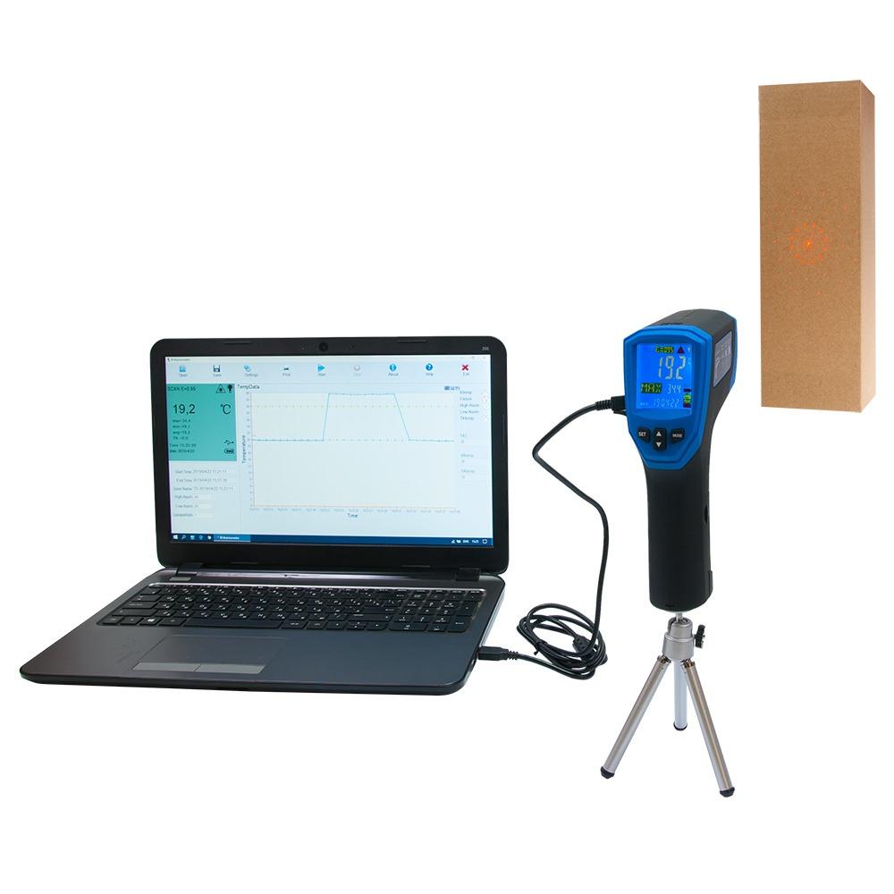 Инфракрасный термометр - пирометр FLUS IR-867 (-50…+1180) - 4