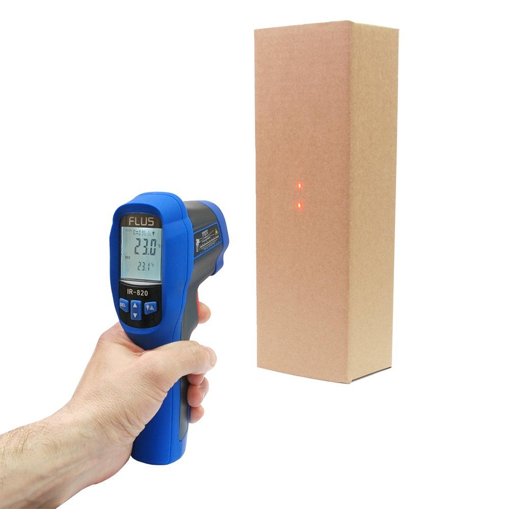 Инфракрасный термометр - пирометр FLUS IR-820 (-50…+500) - 3