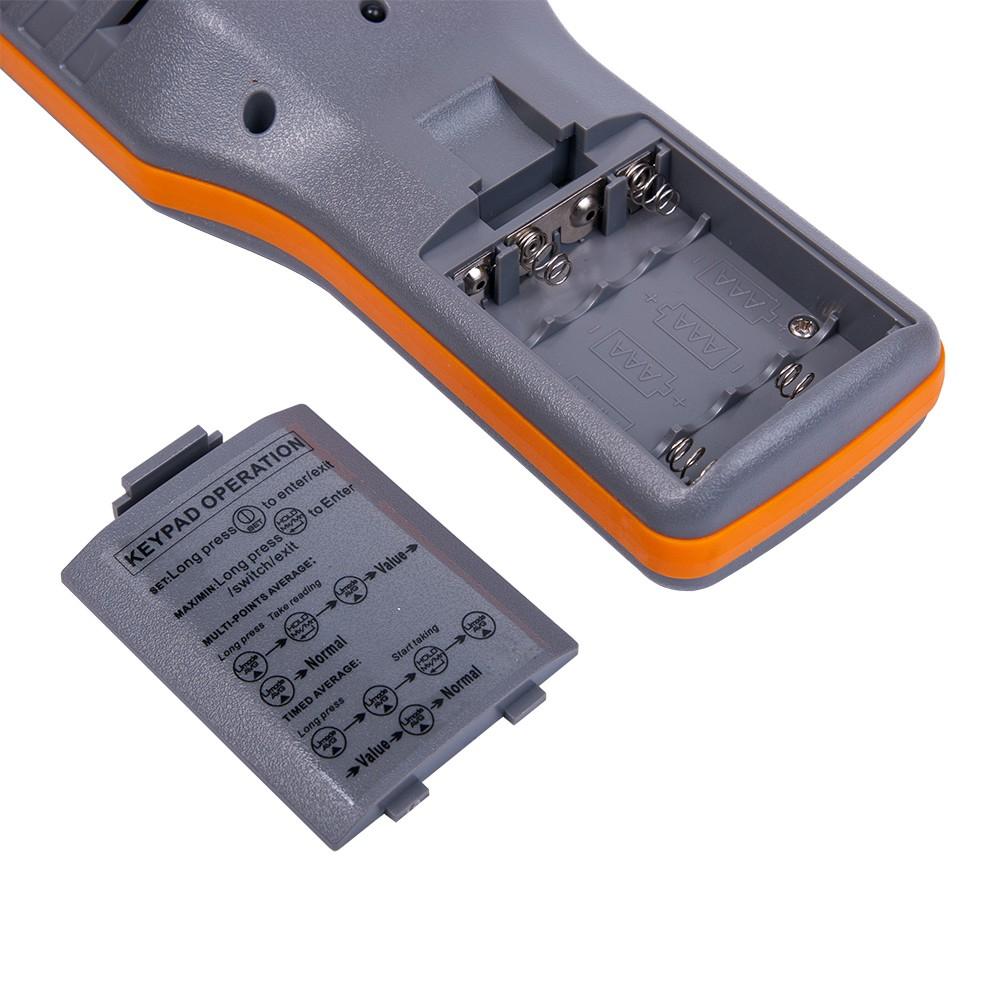 Анемометр-аналізатор AZ-8919 (СО2, RH, точка роси, WBGT) - 2