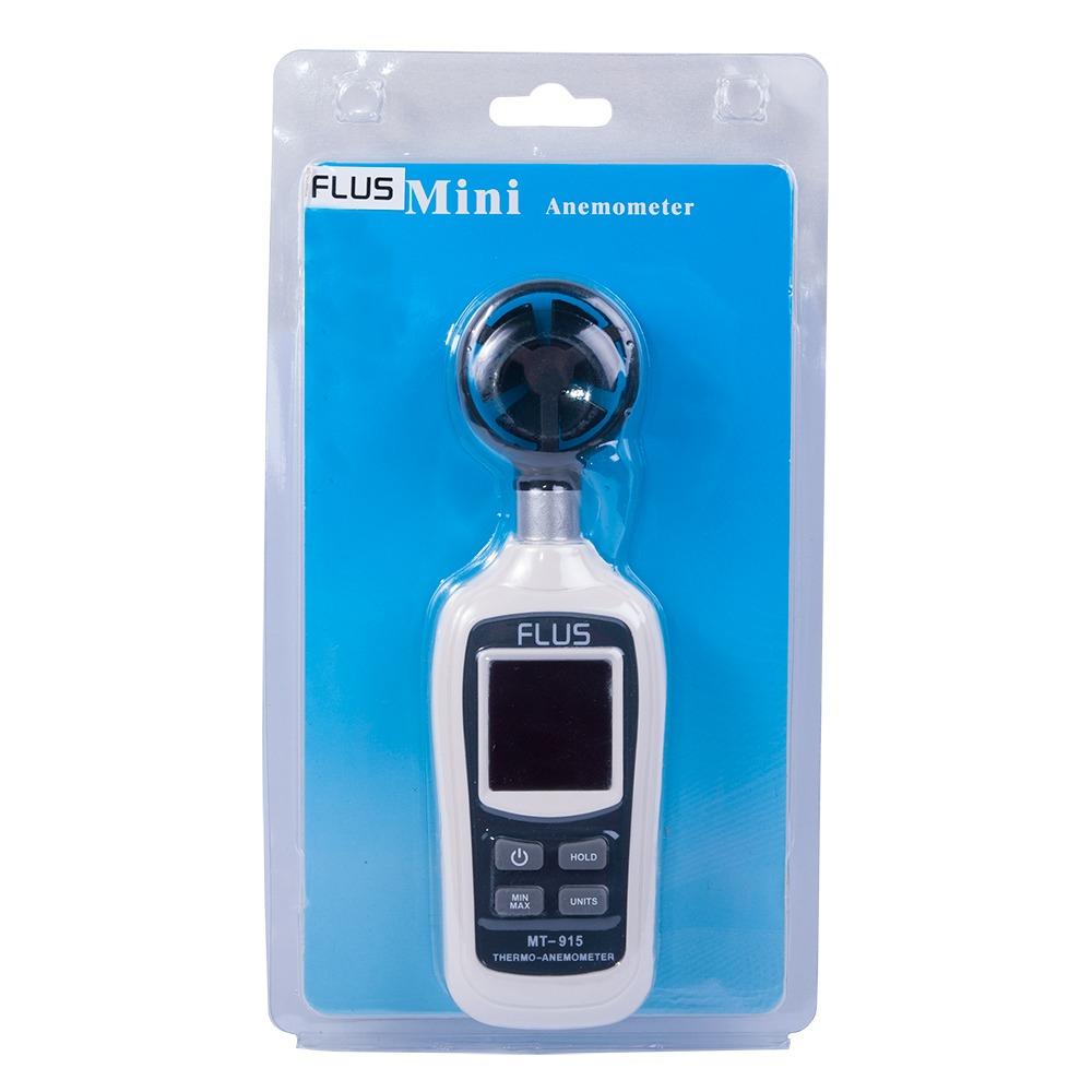 """Анемометр с цветным дисплеем Flus """"MT-915"""" (0,4 ... 30 м/с) - 4"""