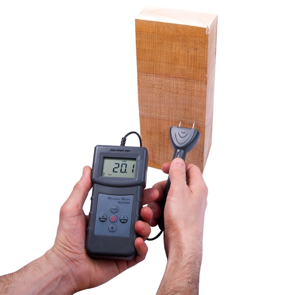 """Вологомір деревини з виносним датчиком """"MS7100"""" (0...80%) - 3"""