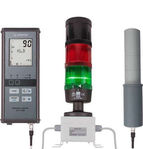 Дозиметр радіометр для вимірювання Радіації на Відстані, Дозиметричний Радіаційний контроль, Дистанційні Вимірювання - 3