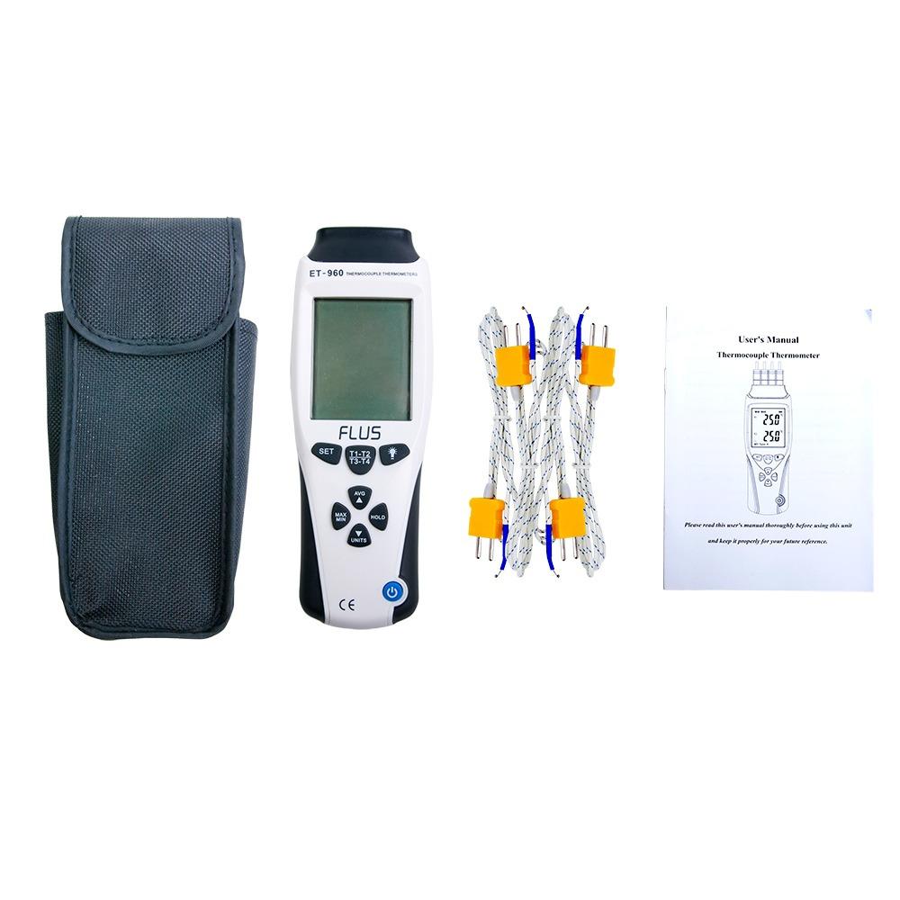 Термометр с термопарой К-типа/J-типа ET-960 - 4