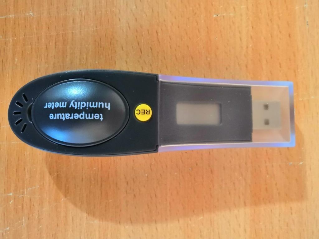 USB даталоггер - реєстратор температури і вологості HT-161 Xintest - 2