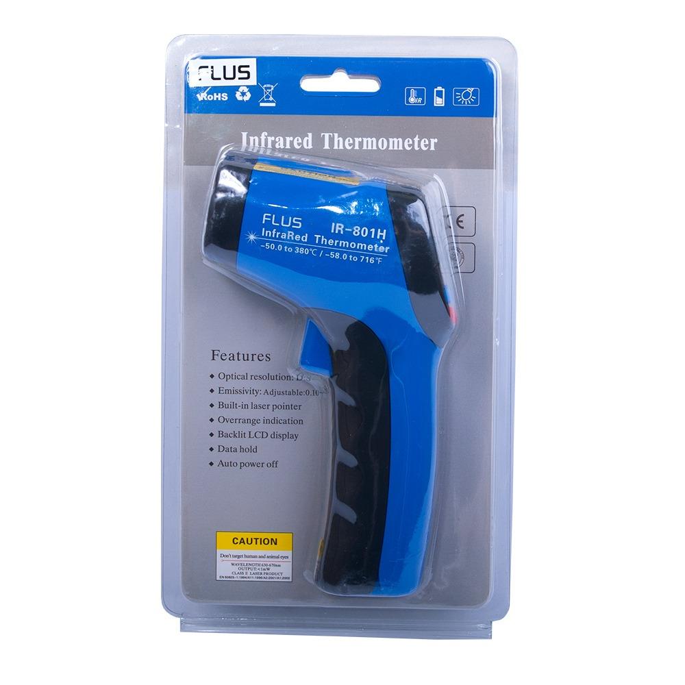 Інфрачервоний термометр - пірометр Flus IR-801H (-50...+ 350) - 3