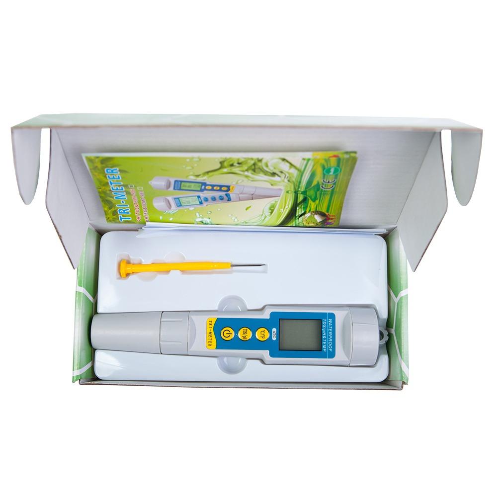 Анализатор воды TDS/рН/Temp-метр BROM pH/TDS-986 - 5