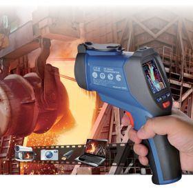 Инфракрасный термометр - пирометр CEM DT-9862 (-50...+2200) - 1