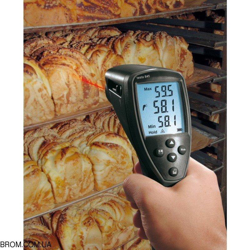 Инфракрасный термометр - пирометр testo 845 (-35...+950) - 6