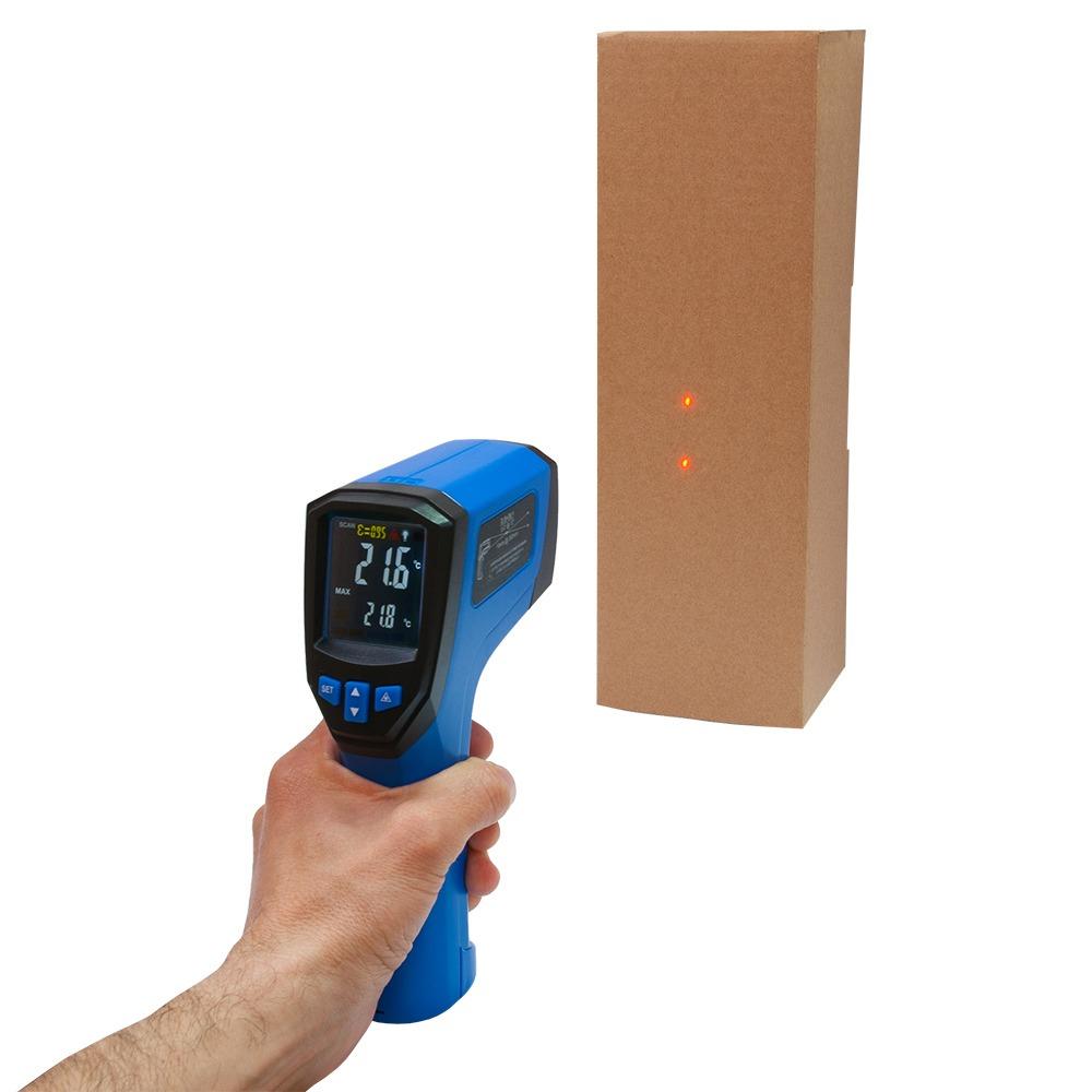 Інфрачервоний термометр - пірометр Flus IR-833 (-50...+900) - 3
