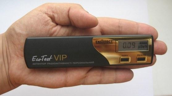 """Детектор радиоактивности бытовой Ecotest """"VIP"""" - 5"""