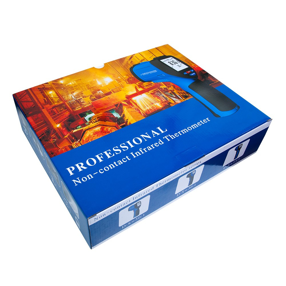 Інфрачервоний термометр - пірометр FLUS IR-861 (-50...+1150) - 5