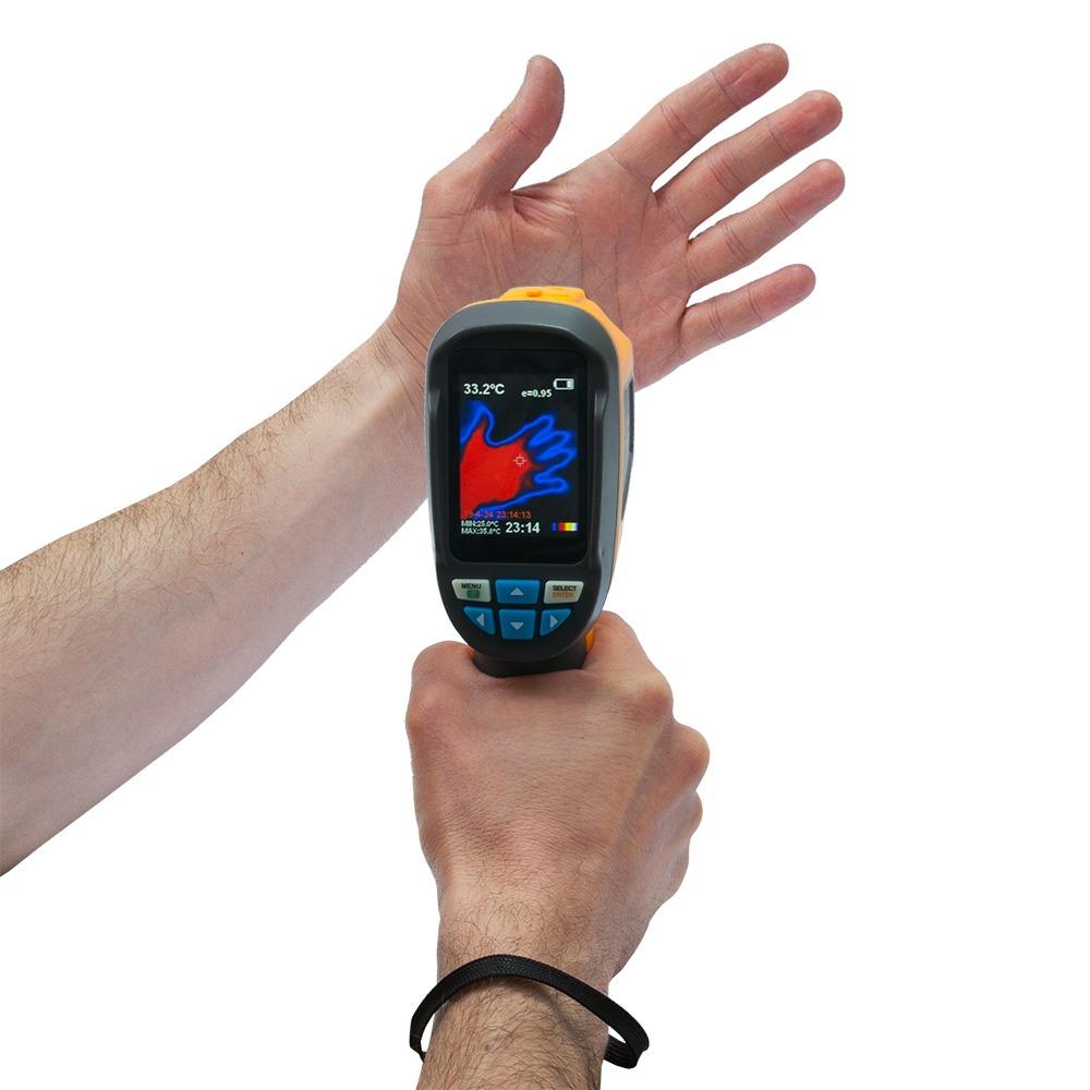 "Тепловизор - термографическая камера Xintest ""HT-02D"" (32x32, 2.4"", -20...300℃) - 8"