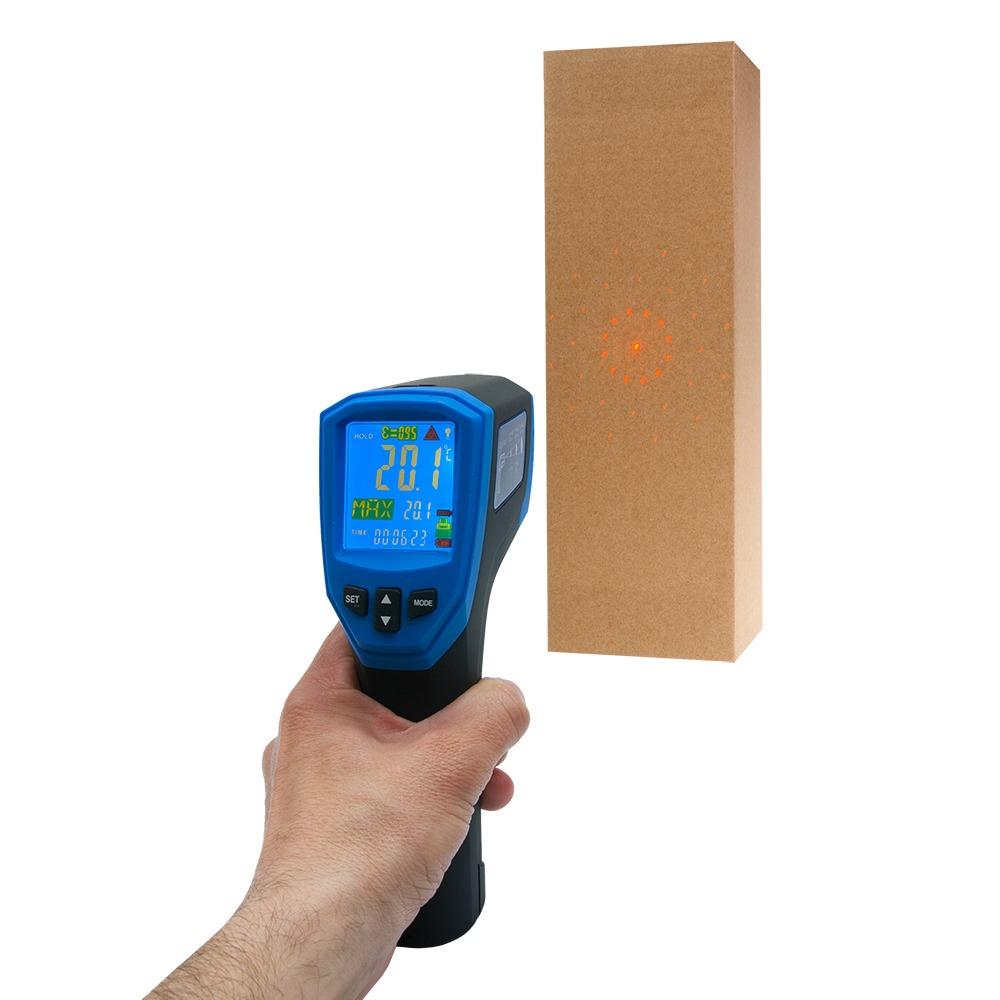 Інфрачервоний термометр - пірометр FLUS IR-870 (-50...+1980) - 3