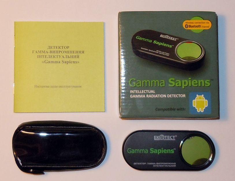 Детектор Дозиметр для смартфонов и планшетов Gamma Sapiens  для Android - 2
