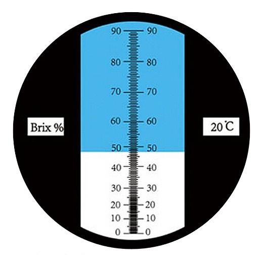 "Рефрактометр для сахара, СОЖ (0...90% Brix) ""HT119"" - 1"