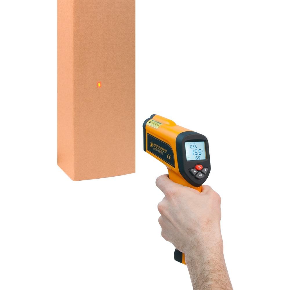 Пірометр Xintest HT-6897 (-50...+1650°C, 50:1) з термопарою - 3