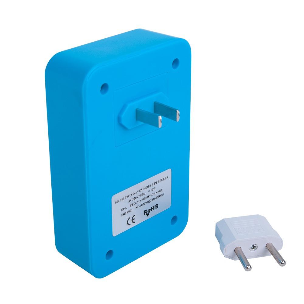 Ультразвуковой + электромагнитный отпугиватель мышей SD-049 - 1