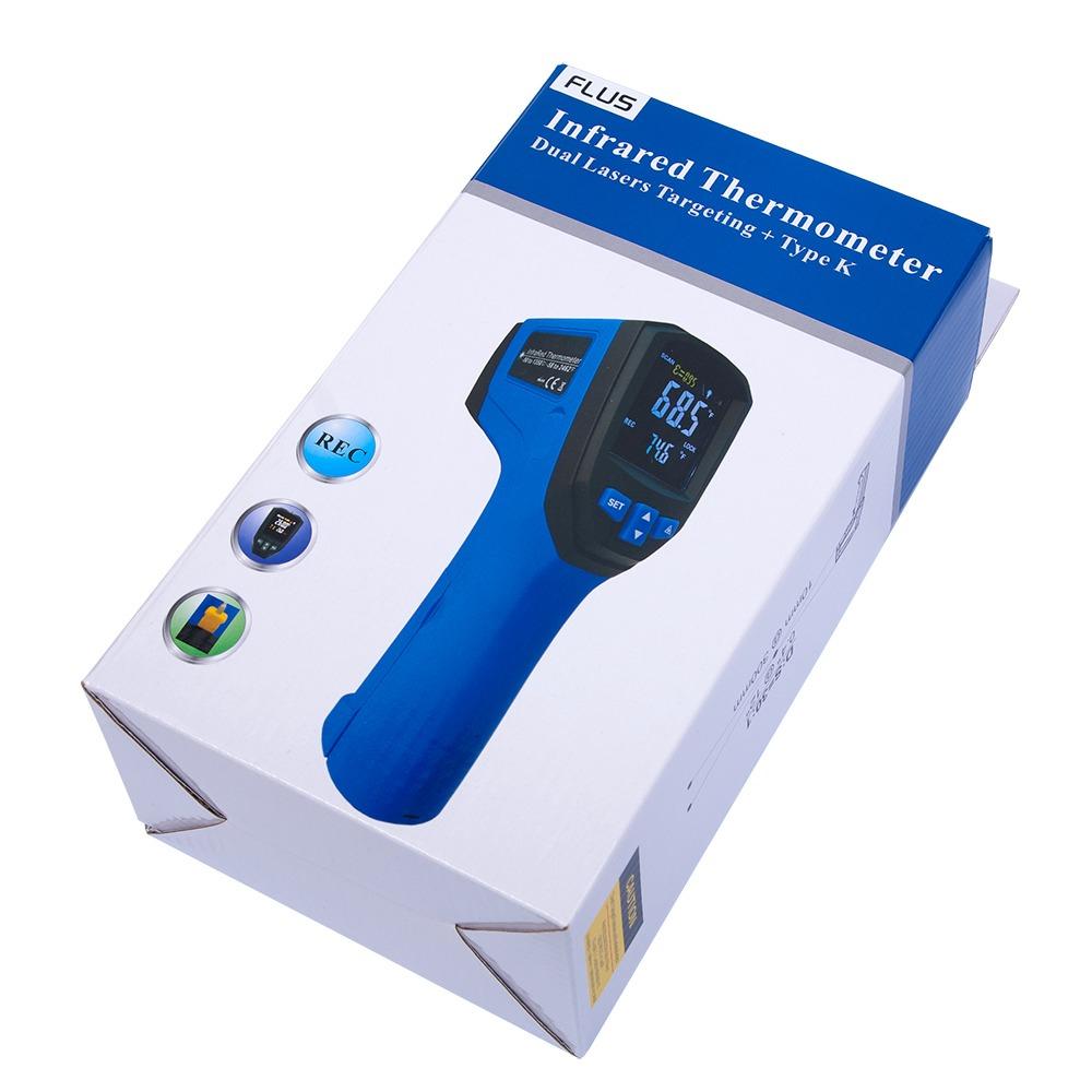 Інфрачервоний термометр - пірометр Flus IR-833 (-50...+900) - 5